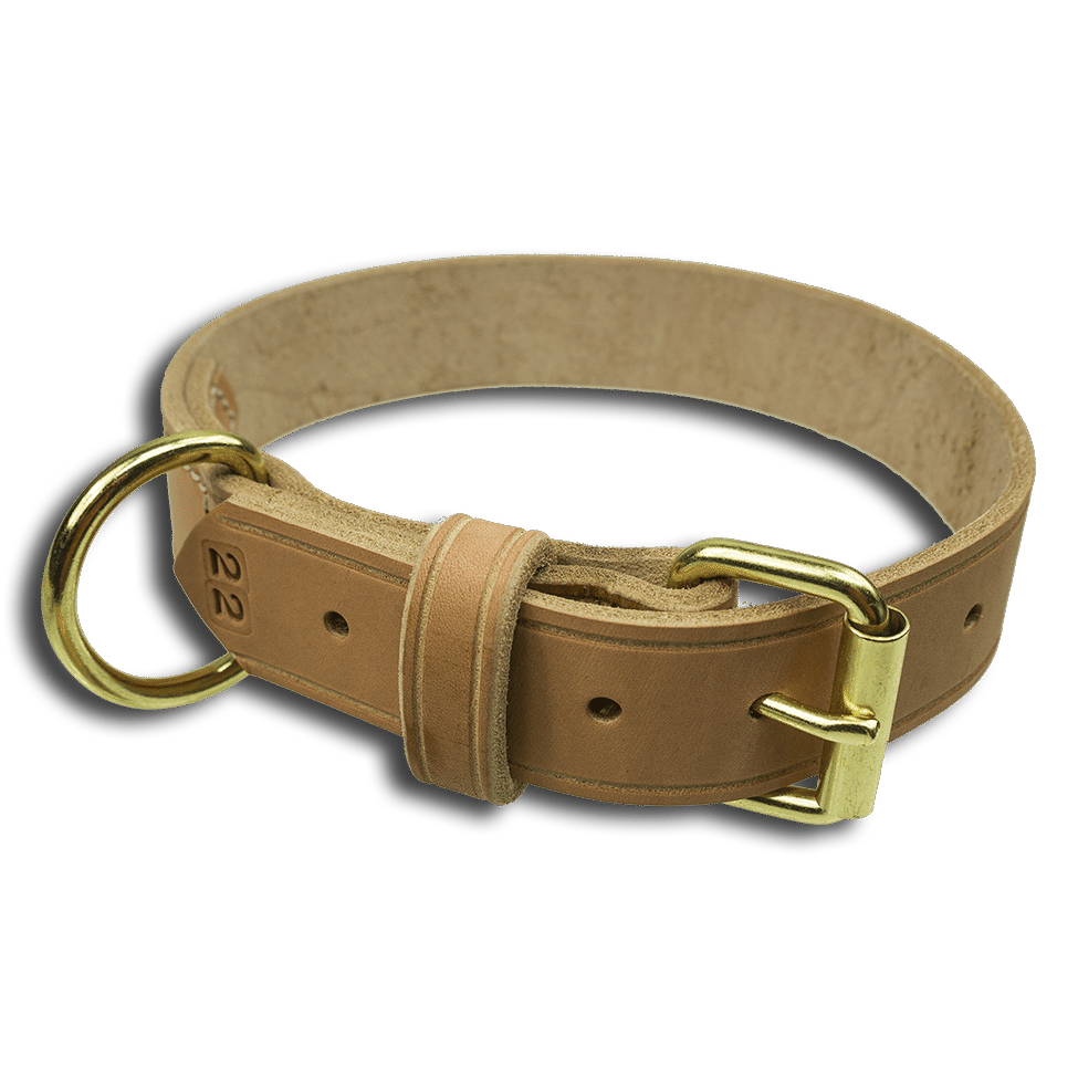 CALIBERDOG LEATHER COLLAR